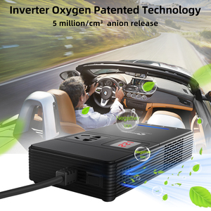 Image 4 - XP Car Power Inverter DC 12V to AC 220V 230V Voltage Converter with Air Purifier QC 3.0 USB Charger Auto Inversor 12 V 220 V