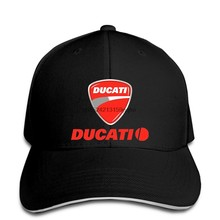 Boné de beisebol della_ducati_racing snapback chapéu pico