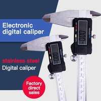 Digital Vernier Caliper 6 8 12Inch 150 200 300mm Stainless Steel Electronic Caliper Micrometer Depth Measuring Tools