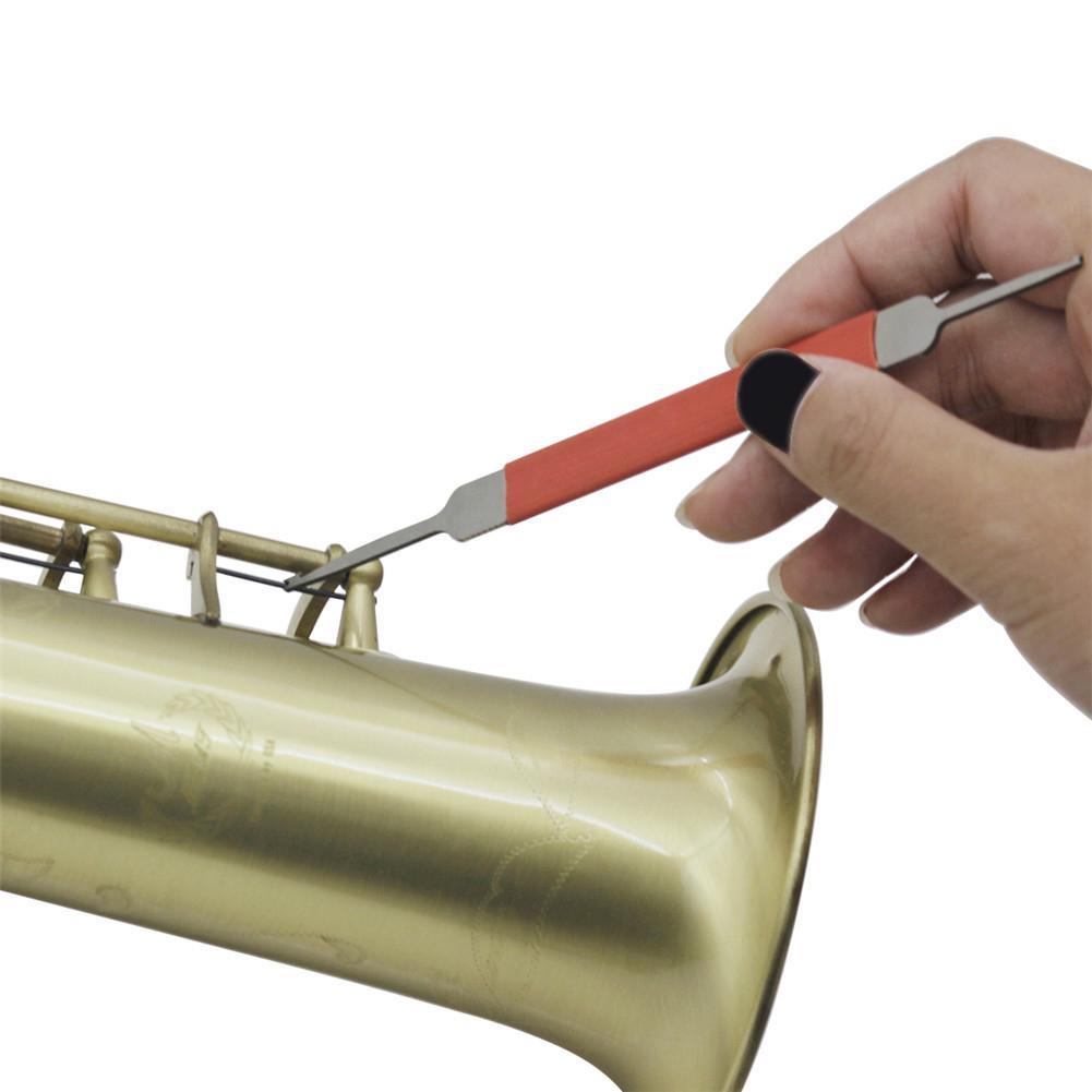 Flute Clarinet Saxophone Needle Spring Spring Adjustment Tool Spring Hook Wind Instrument Maintenance Tools