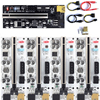 1Pcs/lot PCI-E Express 1x To 16x Riser 010X Card Adapter PCIe 1 To 4 Slot PCIe Port Multiplier Card For BTC Bitcoin ETH Miner