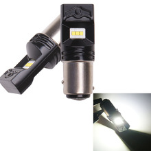 цена на 1156 Led P21w Ba15s Bulbs Car Light 12V 24V CanBus No Error Lamps Signal Reversing Brake Light Reverse 1157 Bay15d
