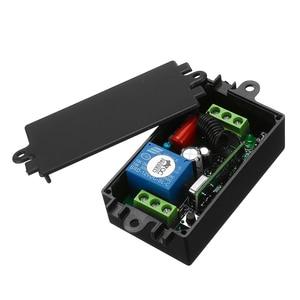 Image 2 - Беспроводной переключатель дистанционного управления AC220V, 1 канал, 10 А, 315 МГц, 433 МГц, выход, радиоприемник, модуль с водонепроницаемым передатчиком