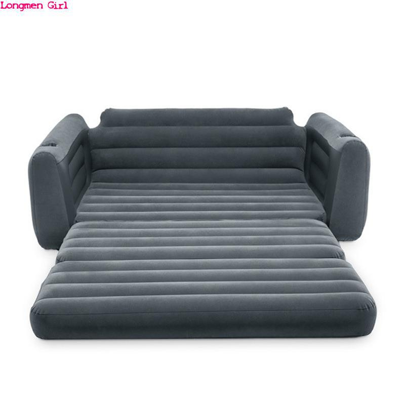 Multifunction Modern Outdoor Garden Sofas Lounger Inflatable Bed  Deck Chairs For Travel Beach Chaise Fold Bedroom Furniture