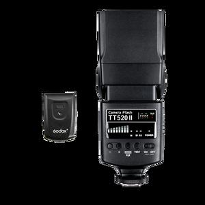 Image 3 - Godox TT520 II Flash TT520II with Build in 433MHz Wireless Signal + Transmitter Kit for Canon Nikon Pentax Olympus DSLR Cameras