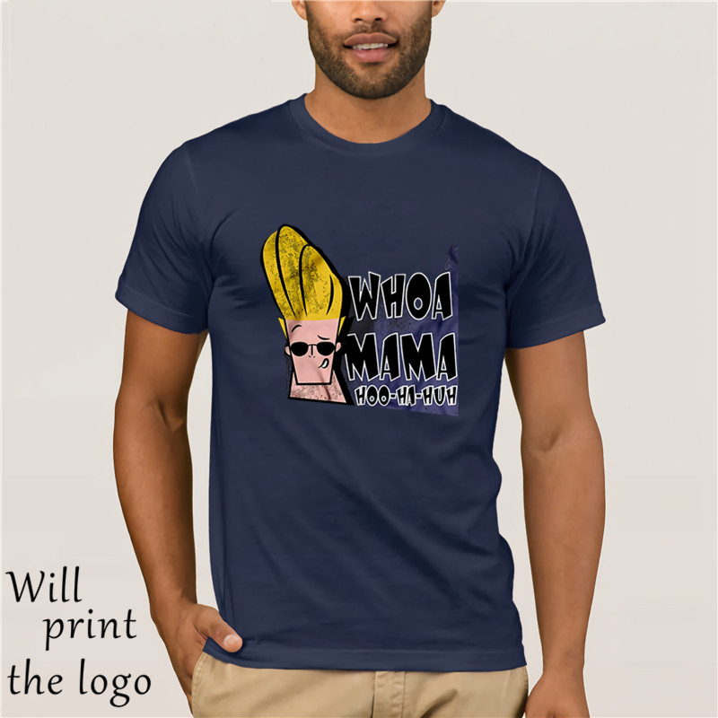 Johnny Bravo Flexing Muscles 90s Cartoon Fun Mens Womens Kids Unisex Tee T-Shirt