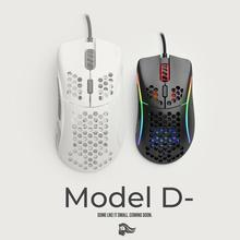 Mouse Glorious Gaming Model D Minus (Small) White Matte (Branco Fosco)   Model D minus Matte Black (Preto Fosco)