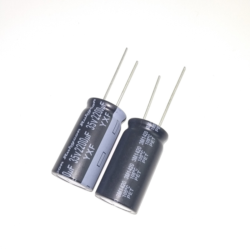 20 Rubycon YXF series 50V 1UF 105c LongLife Low impedance Japan Make Capacitor