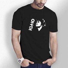 Ht0084 # victor tsoi (kino) Футболка мужская футболка Топ летняя