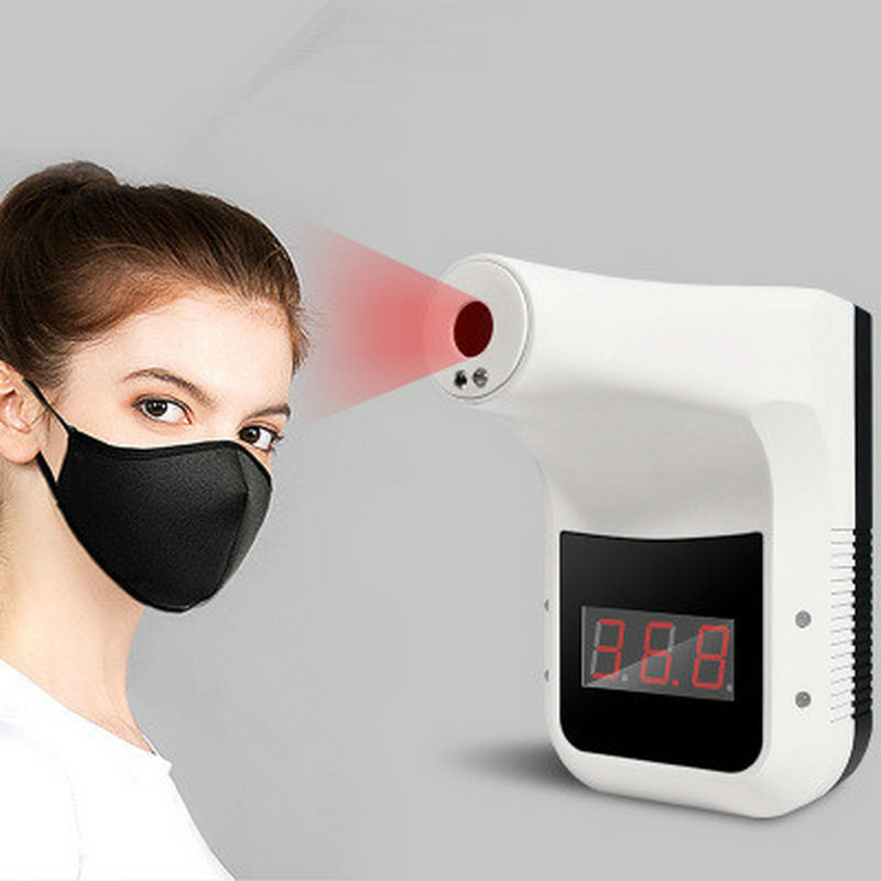 Infrared Thermometer Fixed Non-contact Temperature Measurement High Precision Foreign Trade Infrared Forehead Thermometer