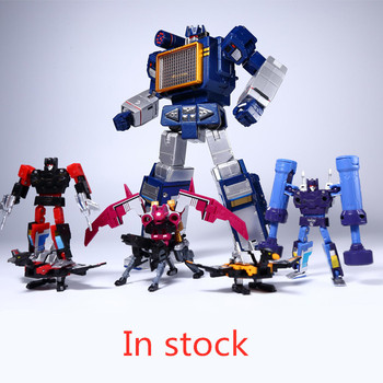 G1 Transformation THF THF-01J Soundwave THf Tape Corps THF01J THF01-JOne Tape walkman MasterPiece MP13 MP-13 Action Figure Robot [show z store] 4th party mp36 mightron mp 36 masterpiece new in box transformation action figure