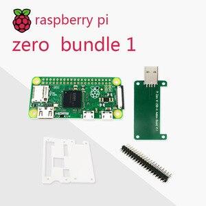 Image 2 - Zestaw Raspberry Pi Zero DEV 1GHz jednordzeniowy procesor 512MB pamięci RAM zawiera kabel MINI HDMI uUSB