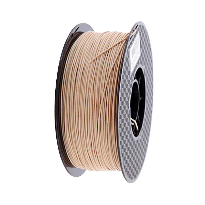 Wood Filament PLA 3D Printer 1 75mm 250g   0 5Kg   1Kg 3D Printing Material PLA Light Dark Red Wooden Color Filaments No Bubble
