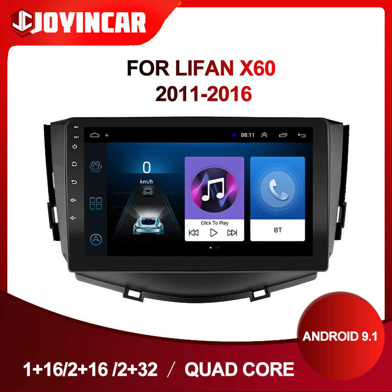 9inch Android 9.1 Car Radio Multimidia Video Untuk Lifan X60 2011 2012-2016 2 din Mobil Stereo GPS navigasi Wifi Bluetooth