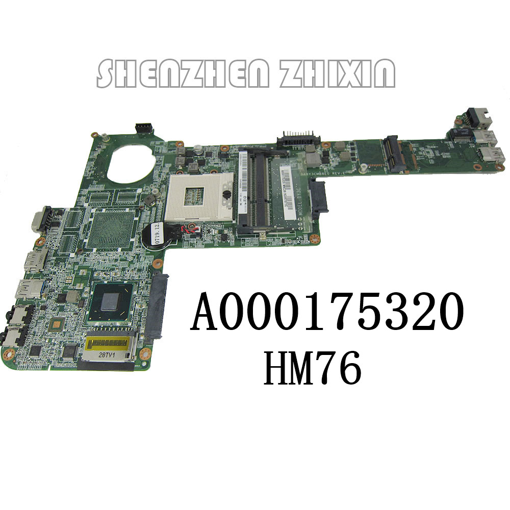 Excellent for Toshiba L840 L845 Laptop Motherboard HM76 DDR3 A000175320 DABY3CMB8E0 100/% Working