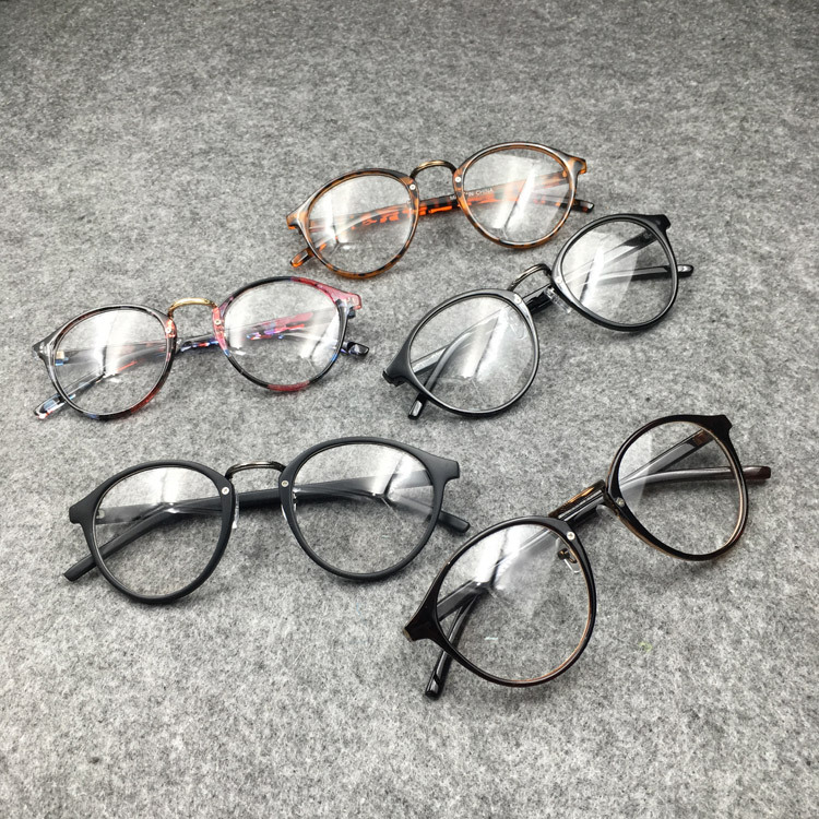 SPH -<font><b>0.5</b></font> -1 to -4.5 -5 -5.5 -6 Prescription <font><b>Glasses</b></font> For Myopia Women Men Anti-radiation Spectacles For Nearsighted 066 image