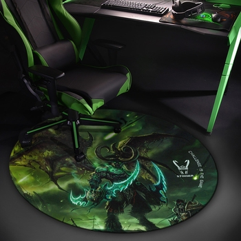 Woxter Stinger Floorpad Green - Tapete protector de suelo Gaming, Accesorios Gaming...