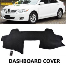 Dashboard Tampa Traço Mat Dashmat Para Toyota Camry Aurion XV40 2007 2008 2009 2010 2011 Tampa Do Painel de Bordo Pad Sol sombra Tapete(China)