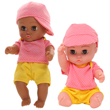 35CM Silicone Waterproof Doll Toys Bebe Reborn Lifelike Baby Dolls For Children Reborn Toddler Toy Eyes Blinking Boy Girl Doll novelty native american indian reborn baby doll with clothes 20 lifelike baby silicone reborn dolls toys for children
