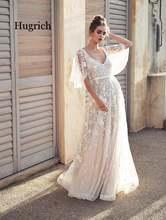 Модное Элегантное вечернее длинное платье Кружевное белое с