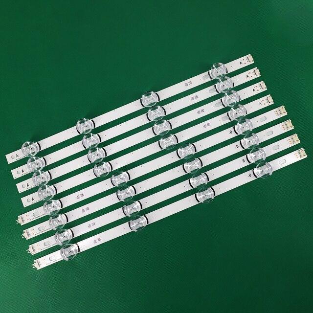 """100% novos 8 pces (4 * a, 4 * b) tiras de led substituídas novas para lg innotek drt 3.0 42 """" a/b tipo 6916l 1709b 1710b 1957e 1956e 6916l 1956a"""