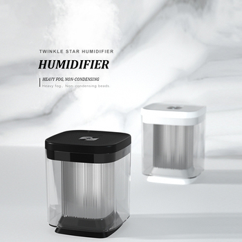Air Humidifier USB colorful starry sky lamp home office desk 1000ml twinkle star humidifier