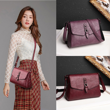 Winter Style 2019 Bolsas Soft Leather Luxury handbags Women bags Designer Multi-pocket Crossbody Shoulder Bags Red Handbag