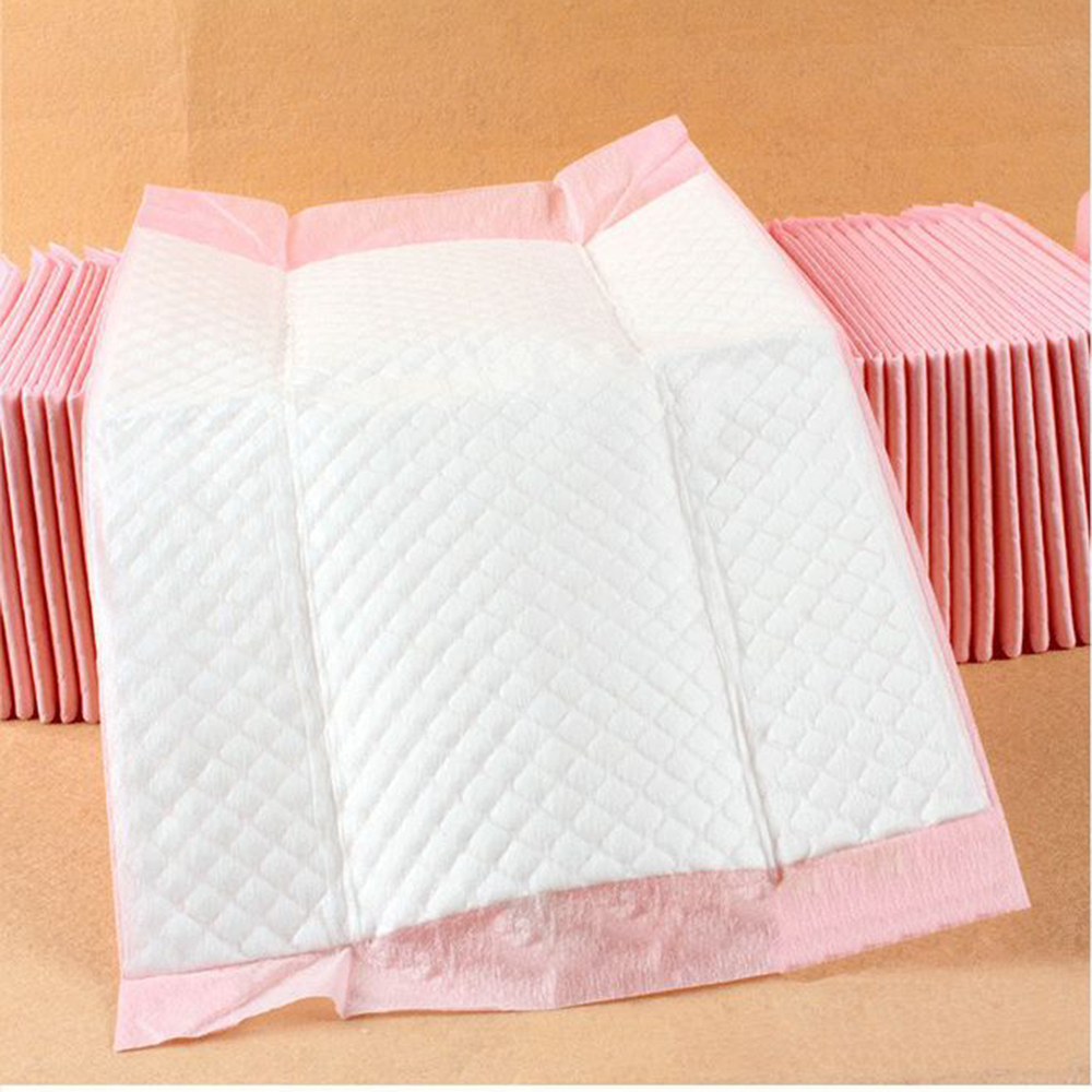 100 Pcs Baby Nursing Pad Disposable Diaper Paper Mat For Adult Child Baby Absorbent Waterproof Breathable Diaper Changing Mat Ma