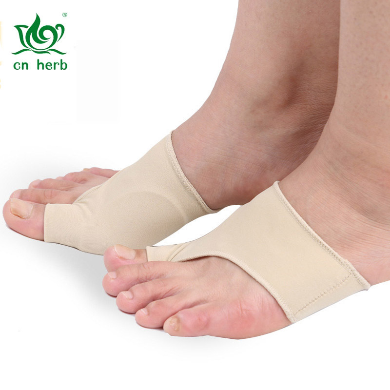 Cn herb Thumbs and valgus care big feet sets of thumb protection cover large toe 1 pairs Magnetic Toe Ring