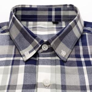 Image 2 - Mannen Plaid Geruite Lange Mouwen Jurk Shirts Enkele Patch Zak Comfortabele Bamboevezel Standaard Fit Casual Boerenbont Shirt