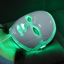 Beauty LED Facial Mask Wrinkle Acne Removal Face Beauty Spa Therapy Photon Light Skin Care Rejuvenation Instrument 7 Colors 40 heating light machine for face messager acne spot skin rejuvenation light photon led therapy bacteria killing removal improve
