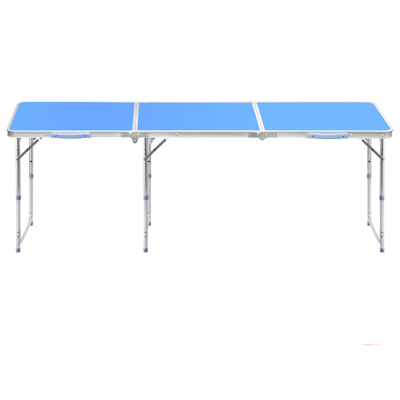 Aluminum Alloy Stand 1.8 Meters Outdoor Folding Table Folding Table Simple Folding Portable Multi-fu