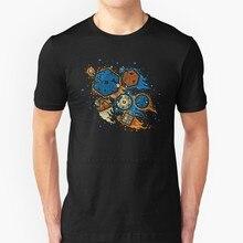 Ролевая игра United Remix, новая трендовая футболка, мужская летняя Высококачественная хлопковая футболка, топы Dnd D ролевая игра, Игральные кубик...
