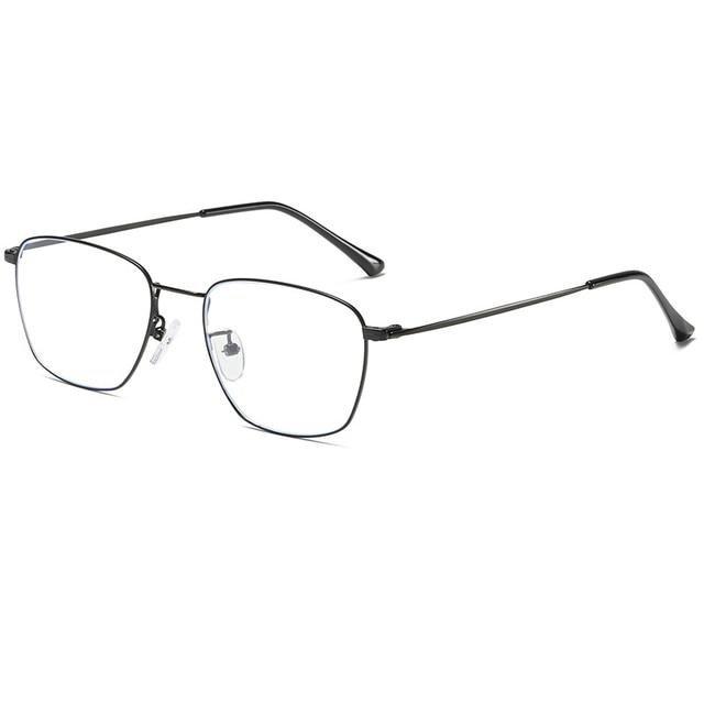 אור משקל מתכת מסגרת אנטי כחול אור מחשב משקפיים גברים נשים אופנה חסימת lunette לומייר bleue