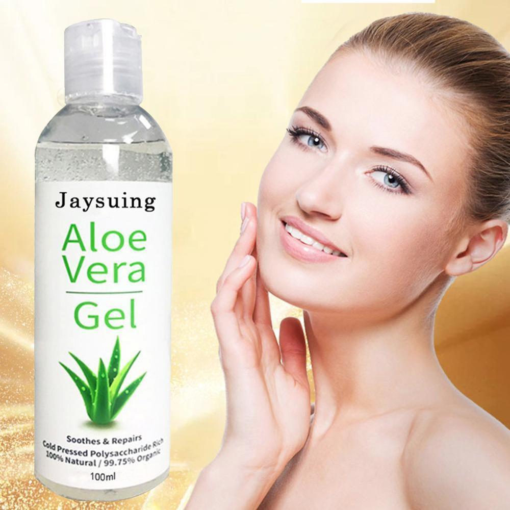 Natural Aloe Vera Gel Face Moisturizer Anti Wrinkle Cream For DIY Hand Sanitizer Gel Easly For Homemade Hand Sanitizer Gel