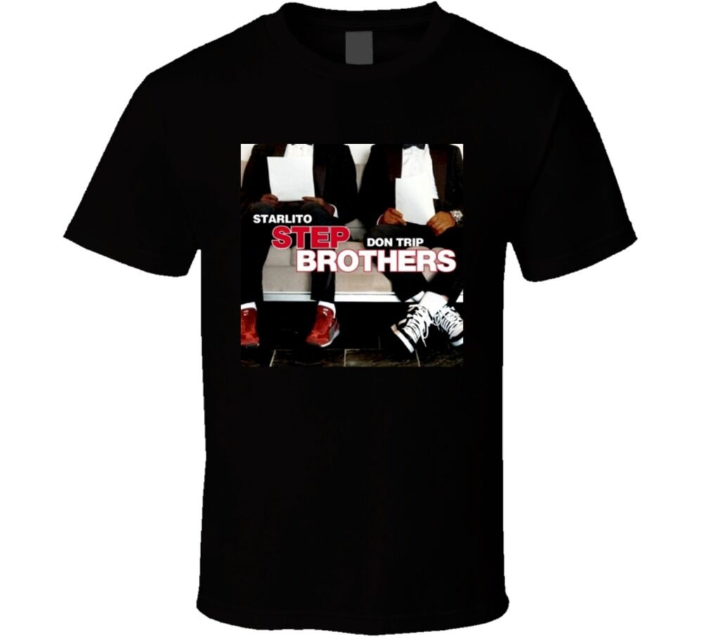 Starlito Don Trip Step Brothers Best Hip Hop Mixtape Ever T shirt image