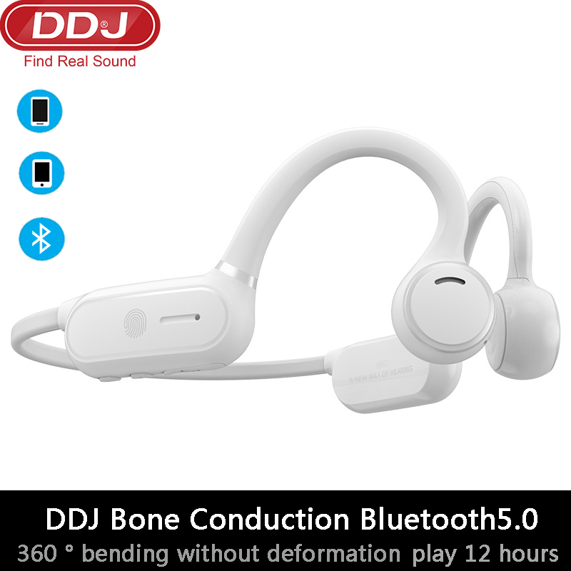 DDJ SOLO sports wireless headset bluetooth headset touch control waterproof sports office headset 12h battery life for Xiaomi