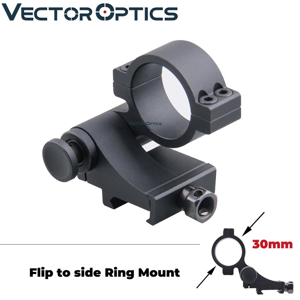 Hunting 4X32 Sight Scope+25.4mm Ring Stand Fir 20mm Rail Mount For Airsoft Black
