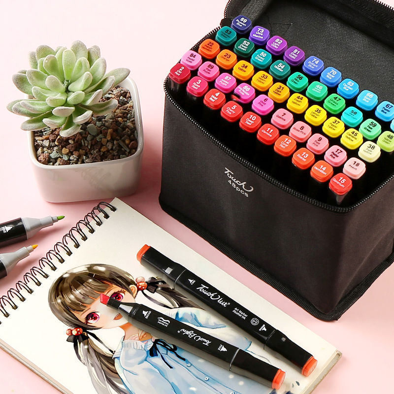 Sketching Marker Sets 80 Color 60Color 30 Color 24Color 12Color For Students And Artists Draw With Two Tips Love Like
