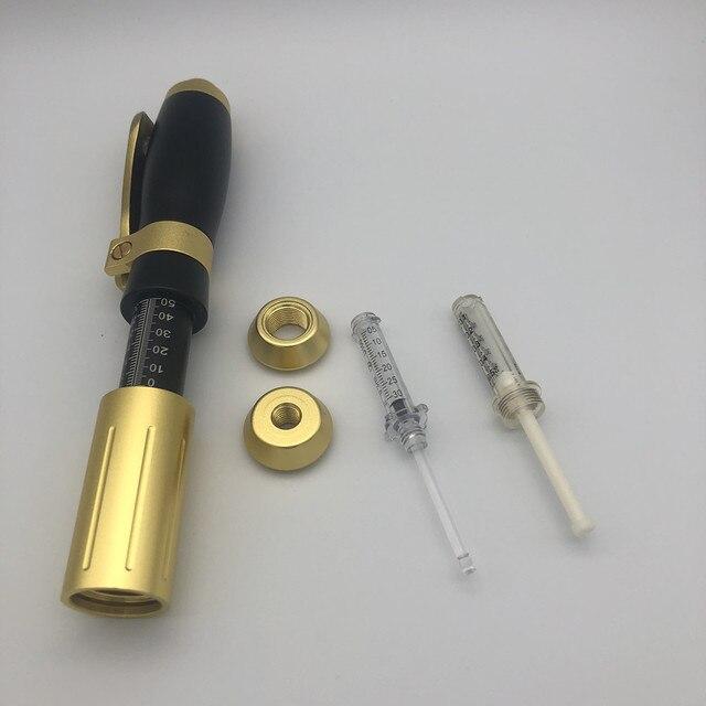 Stylo hyaluronique haute pression avec embout de 0.3ml et 0.5ml Esthétique professionnelle Traitement hyaluronique Bella Risse https://bellarissecoiffure.ch/produit/stylo-hyaluronique-haute-pression-avec-embout-de-0-3ml-et-0-5ml/