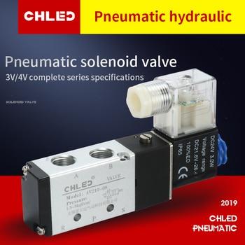 цена на Chled Pneumatic Electric Solenoid Valve Air Solenoid Valves 4V210-08 4V210-06Pneumatic Control Valve , DC12v DC24v 110v AC220v