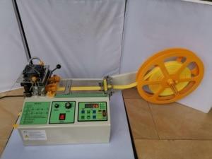 Image 1 - Machine de découpe pour ceintures en tissu chaud et froid, ordinateur, machine pour sangles adhésives magiques, fermeture éclair, découpe automatique, ceinture élastique, 988