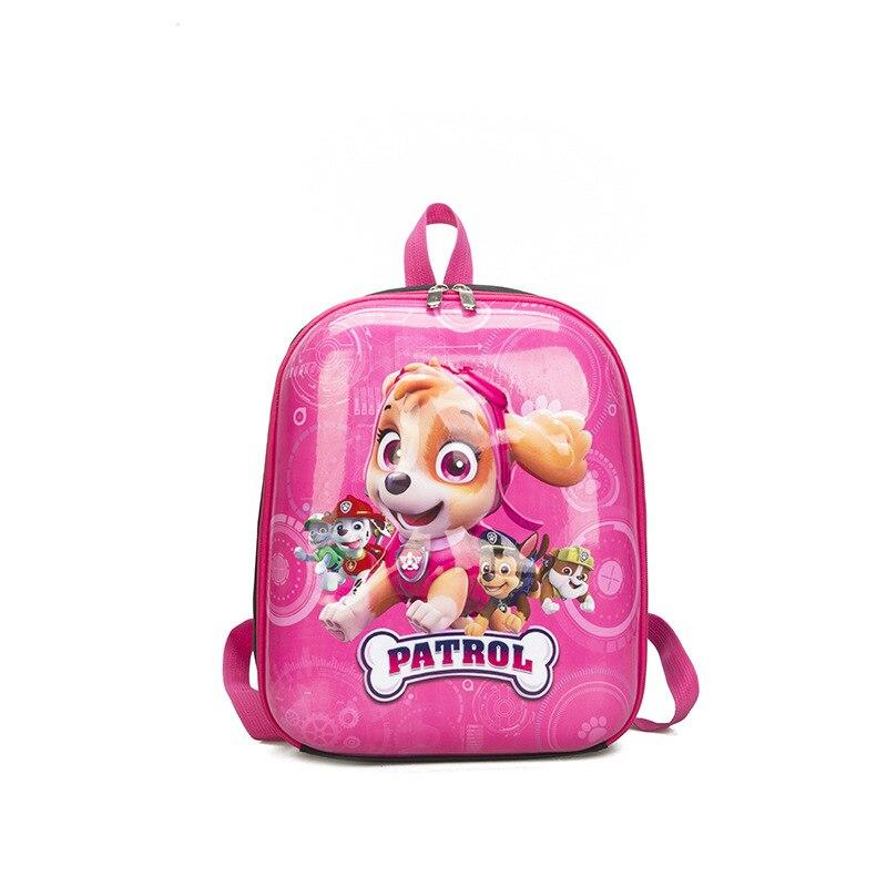 Buy Paw Patrol Bag Children's School Bag 3D Hard Shell Cartoon Anime Figure Waterproof Backpack Kids Toys for Children D55 for only 12.73 USD