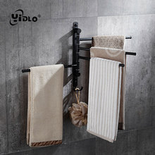Stainless Steel Black Movable Bathroom Towel Bar Wall Mounted Black Towel Holder Space Aluminum Black Blower Stand Towel Ring D7 свитшот print bar black space