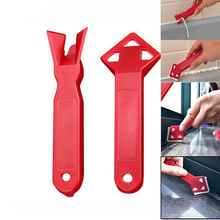 2Pcs/set Mini Manual Scraper Cleaning Tool Tile Cleaner Remove Surface Glue Residual Shovel Practical Hand Tool Floor Cleaner