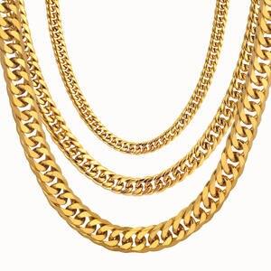 Men's Necklace Thick...