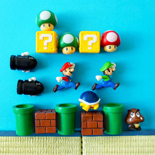 Super Pilz monster spiel Kühlschrank Magnet Kühlschrank Magnet Nachricht Aufkleber Erwachsene Mann Mädchen Junge Kinder Kinder Spielzeug Geburtstag Geschenk