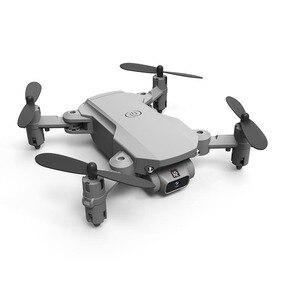 Image 4 - Xkj 2020新ミニドローン4 18k 1080 1080p hdカメラwifi fpv空気圧高度ホールド黒とグレー折りたたみquadcopter rc dronおもちゃ