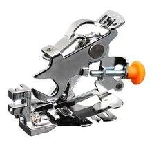 Falda prensatelas para máquina de coser arrugas prensatelas Multi-función final plisado prensatelas