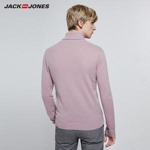 Image 3 - JackJones Mens Smart Casual basic Long sleeved Turtleneck Sweater 219324520